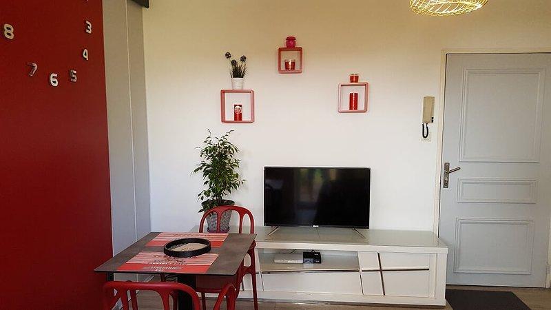 Nice studio with garden & terrace, holiday rental in Saint-Denis