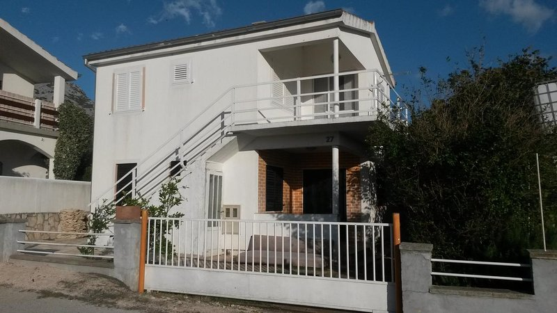 Two bedroom apartment Seline, Paklenica (A-17115-a), holiday rental in Seline