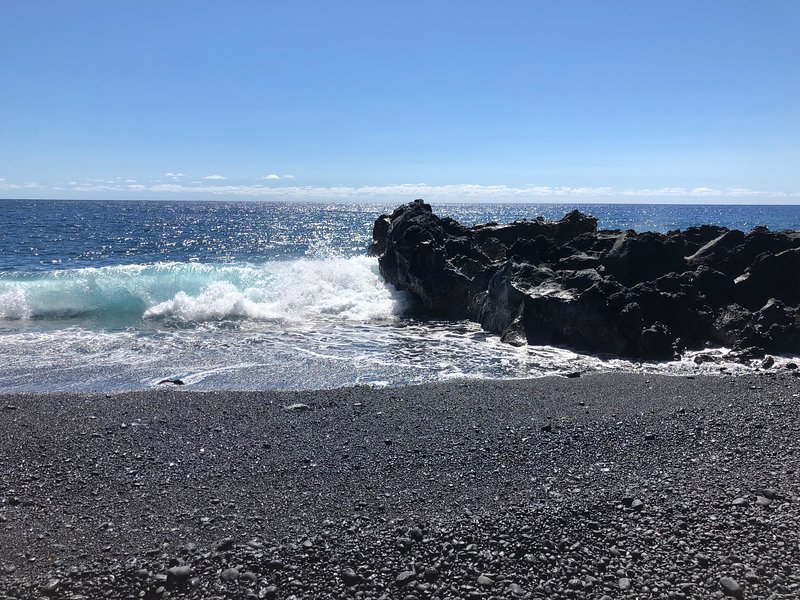 WALK to Kehena Black Sand Beach from Blue Kehena