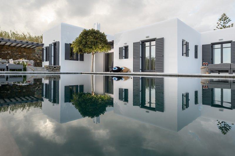 Myconian Platinum Senior Villa, holiday rental in Kalafatis