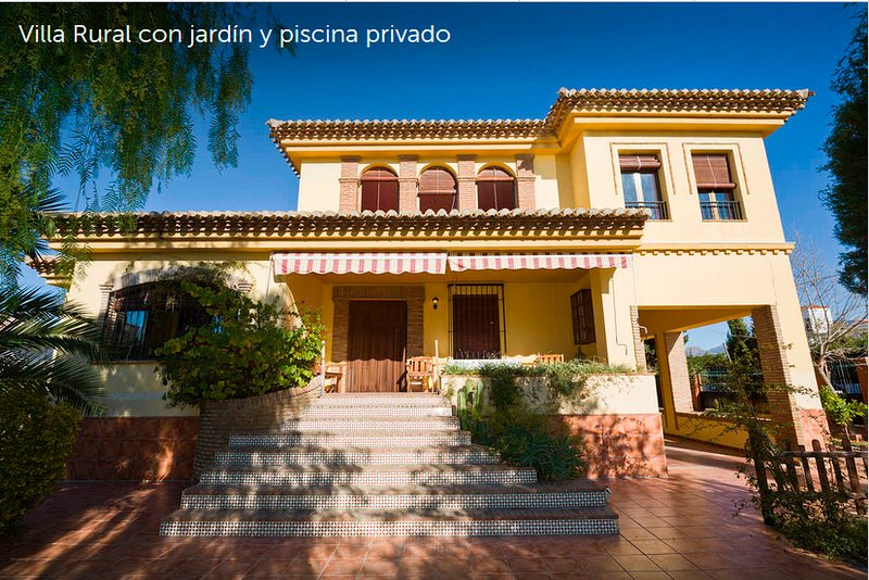 Villa Loma Linda, holiday rental in Churriana de la Vega