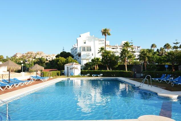 OFERTA AGOSTO. Apartamento (6 personas) Mijas Costa, Club La Costa World, alquiler de vacaciones en Mijas