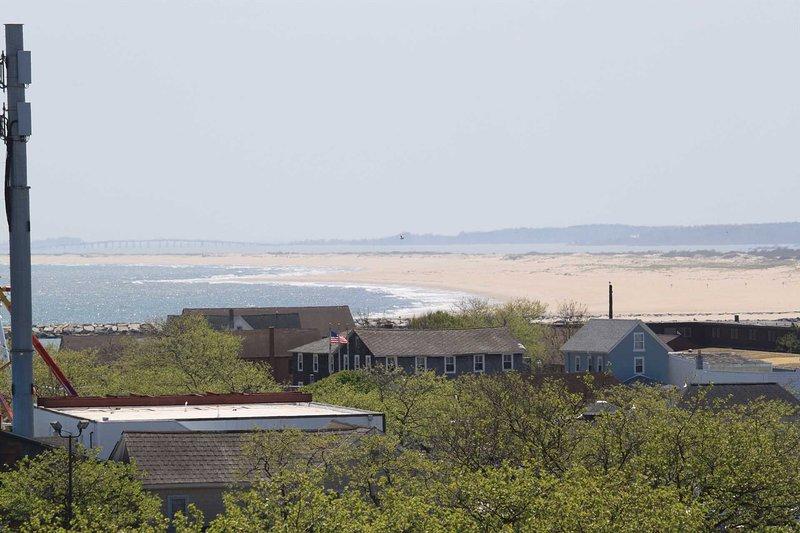 Vista del océano y la isla de Assateague desde Balciny