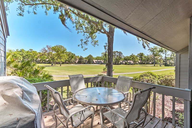 Palmetto Dunes Townhouse - Walk to the Beach!, holiday rental in Bluffton
