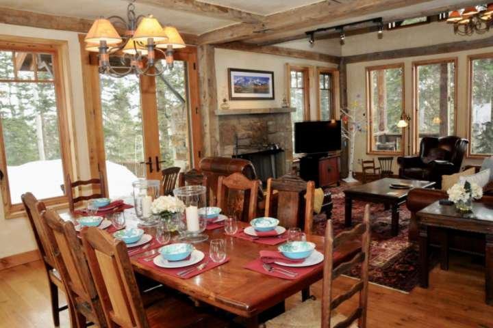 Sala da pranzo con vista Great Room