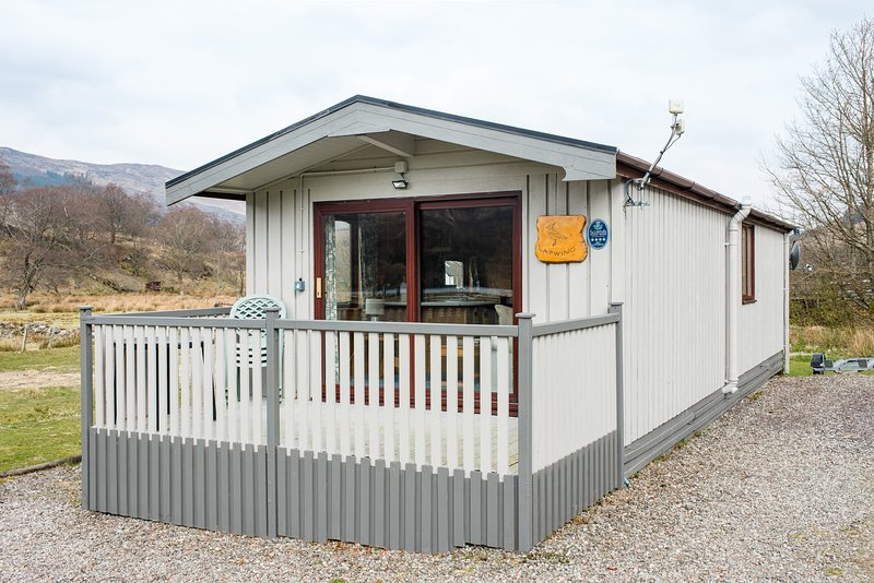 Lapwing chalet, holiday rental in Tyndrum