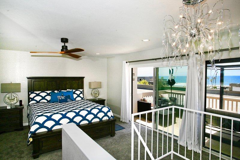 Master Suite con hermosas vistas al mar, mucha luz y un gran patio
