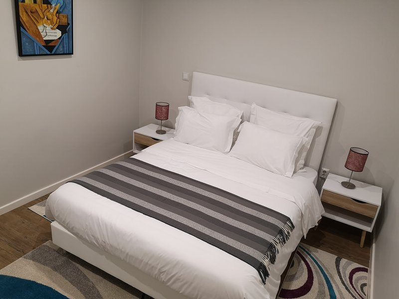 Sleeping Room with King Size Bed