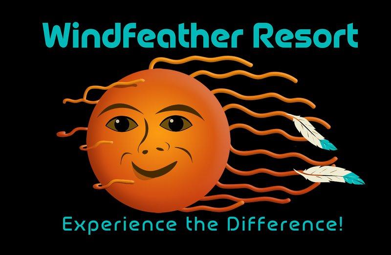 Windfeather Resort logo