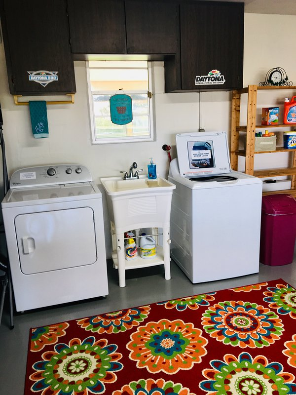 New Washer and Dryer.