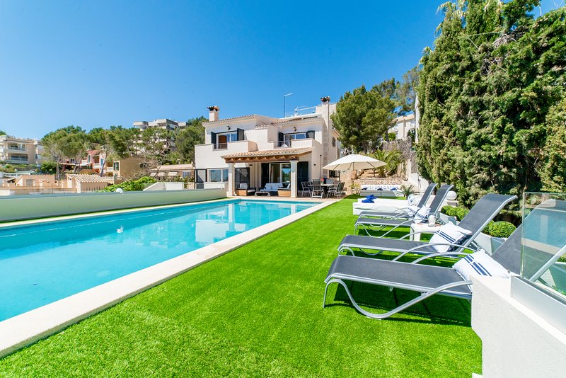 Villa In Bendinat, South West Mallorca,, holiday rental in Portals Nous