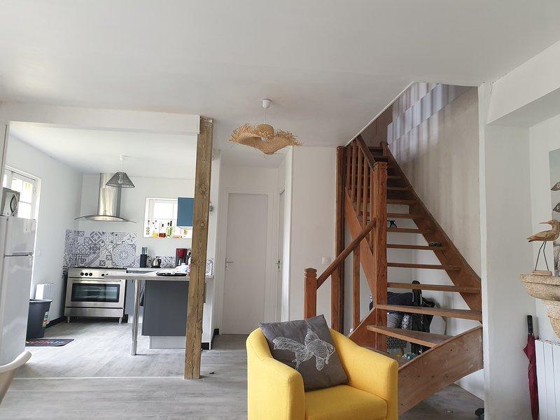 Maison typique royannaise dans un quartier calme, vacation rental in l'Eguille sur Seudre