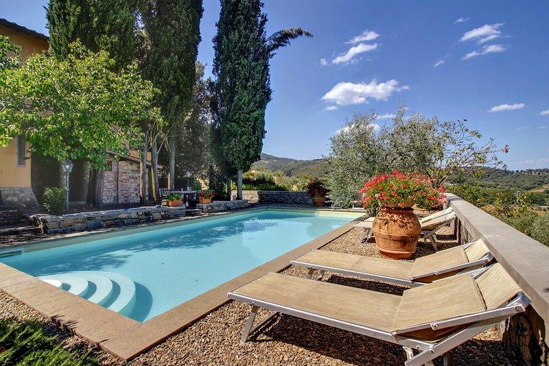 Villa Grevigiana, holiday rental in Ponte Agli Stolli