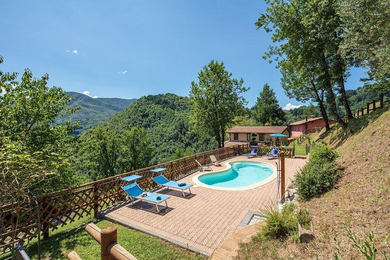 Casale Scope, holiday rental in Vergemoli