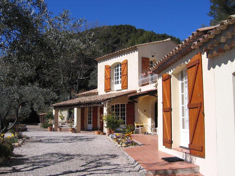 Provencal Style Villa with Private Pool, casa vacanza a Callas
