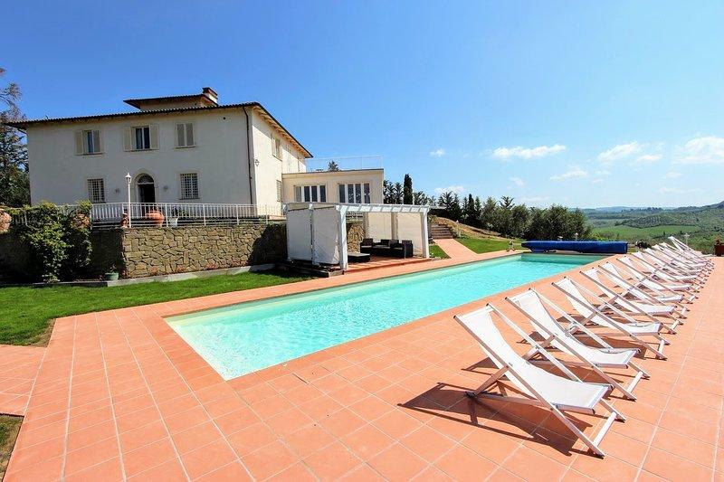 Villa Belsole, holiday rental in Certaldo