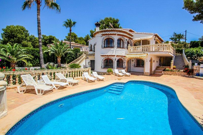 Rondel - sea view villa with private pool in Costa Blanca, location de vacances à Benissa