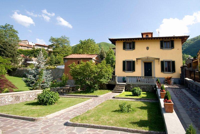 Villa il Canto, vacation rental in San Godenzo