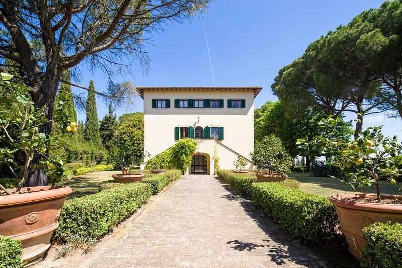 Villa Sorbaiano, holiday rental in Ligia