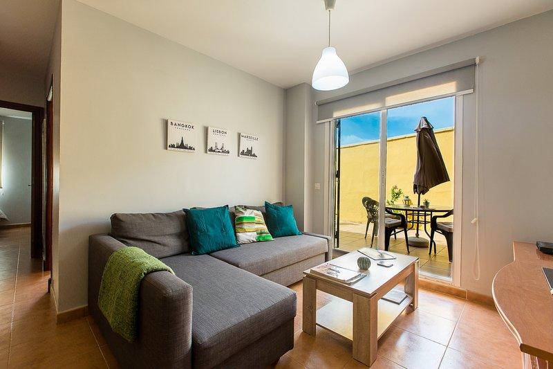CASA ENTRE 2 MARES 1, holiday rental in Tarifa