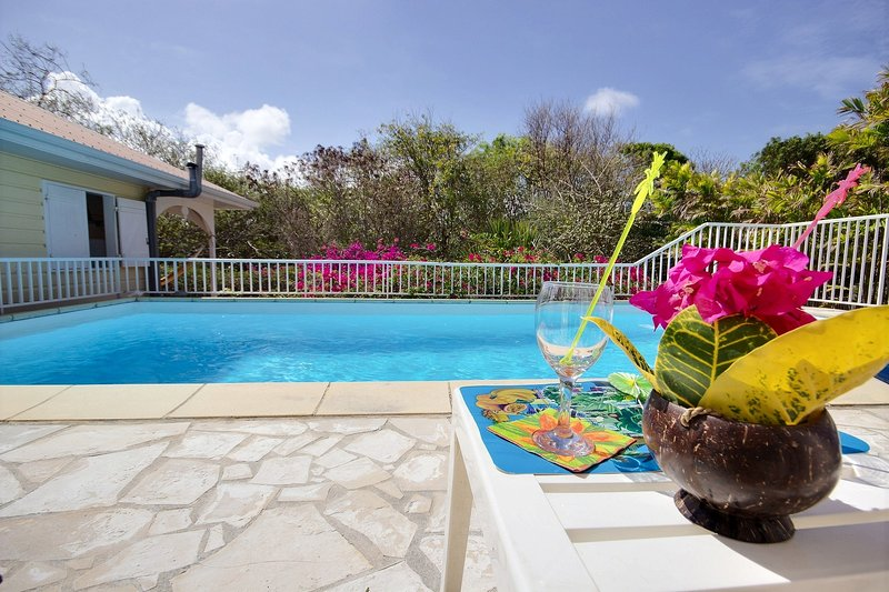 Villa Cattleya, 4 chambres, piscine à 5 mins des plages, spot de kite, alquiler de vacaciones en Le Vauclin