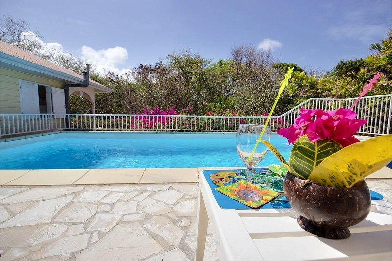 Villa Cattleya, 4 chambres, piscine à 5 mins des plages, spot de kite, holiday rental in Le Vauclin