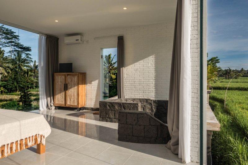 Ubud White Cubes, location de vacances à Kedewatan