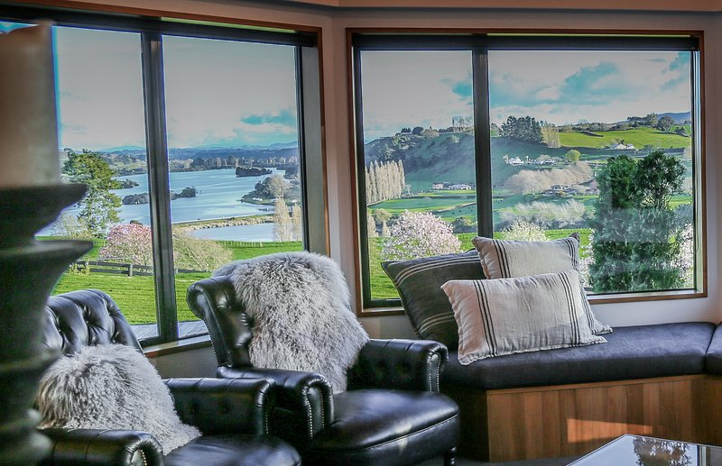 Stunning views from the living area.