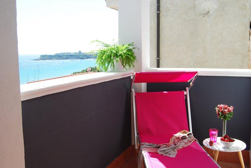 Crisvan Home Trilo Mare, vacation rental in Le Cannella