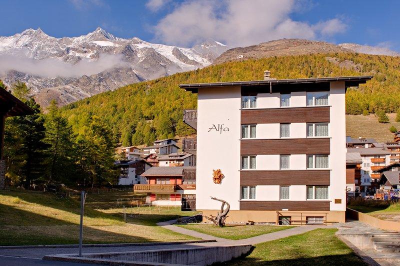 Haus-Alfa, holiday rental in Saas-Grund