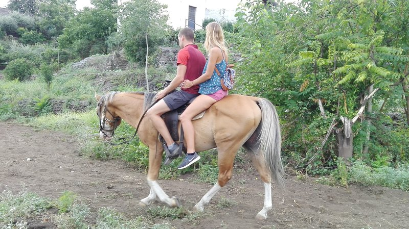 In this property and nearby it , it is possible to practise experience on horse