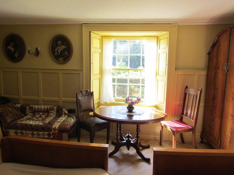 west-facing bedroom