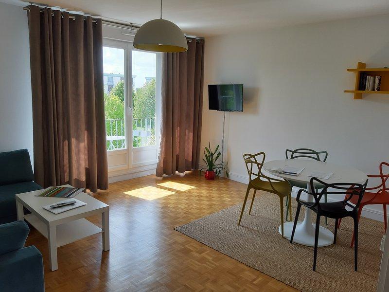 Appartement 50 m2 classé 3*, bien situé (loisirs, sport, musées, commerces), alquiler vacacional en Caen