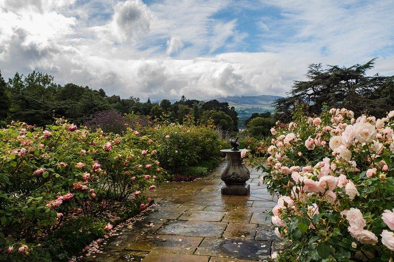 Bodnant Garden Rose Terrace