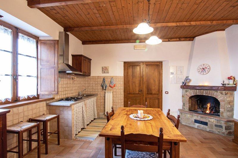 Agriturismo IL PODERUCCIO Bilocale, holiday rental in Bagno Vignoni