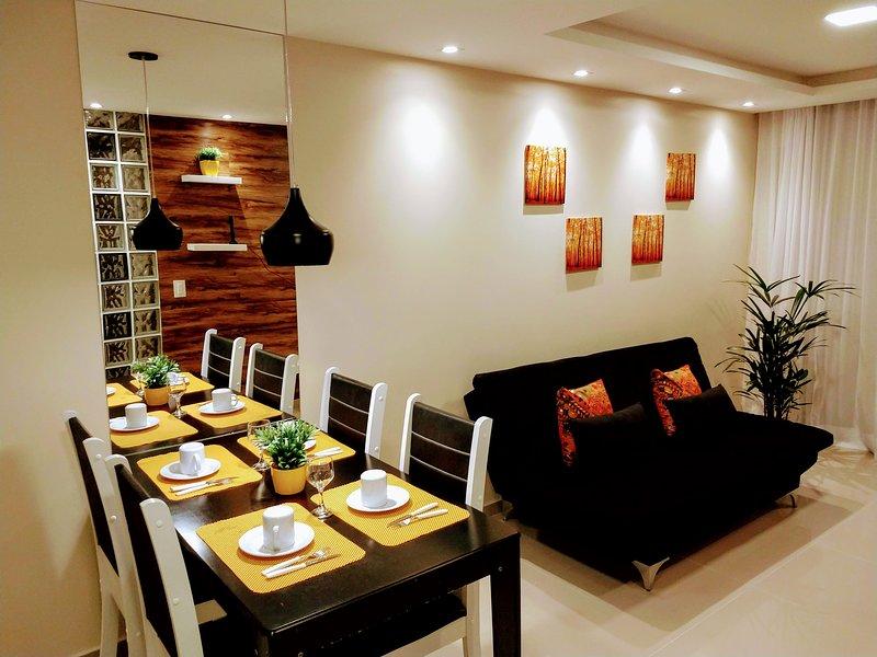 Lindo apartamento com piscina a 300mt da praia, alquiler vacacional en Maceio