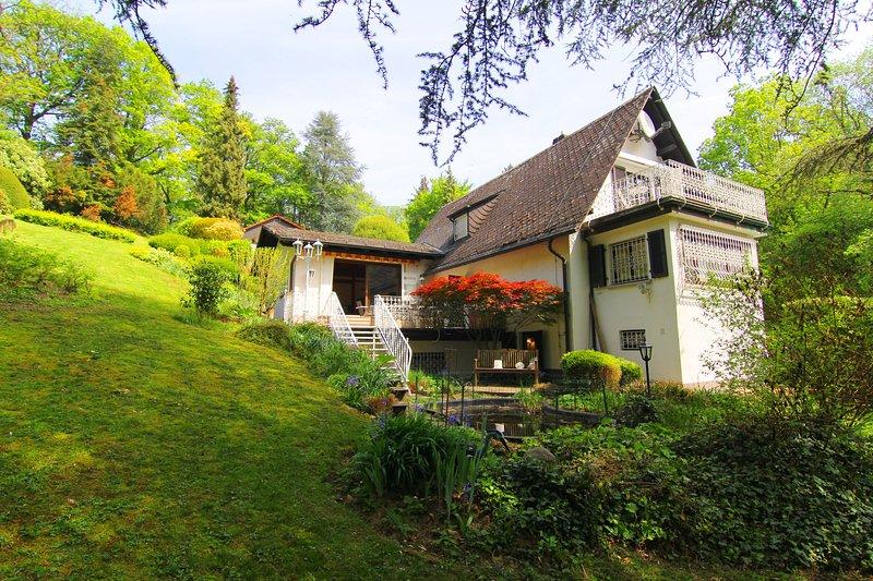 Ferienhaus Villa EMG Frankfurt, Familien Gruppen, 7 Schlafzimmer, Garten, Privat, vacation rental in Königstein im Taunus