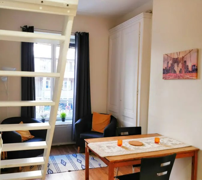 Confort studio in the center of lyon, holiday rental in Venissieux