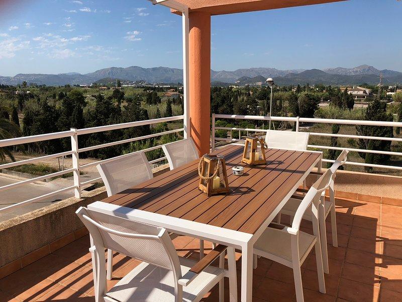ATICO PRECIOSO, holiday rental in Oliva