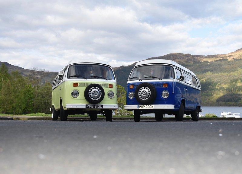 Wee Vintage Campers, casa vacanza a Larkhall
