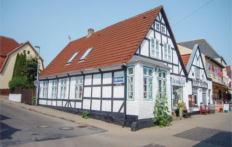 Beautiful apartment in Kappeln with WiFi and 1 Bedrooms (DSH393), aluguéis de temporada em Arnis