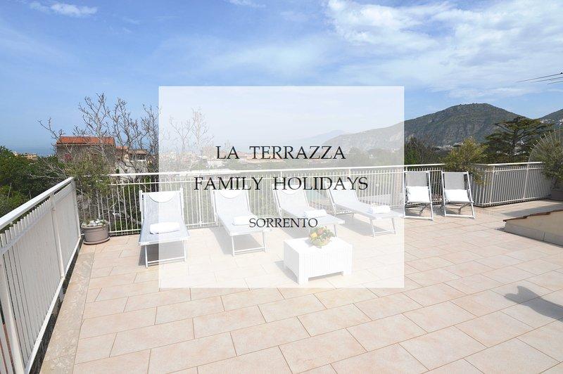 La Terrazza Family Holidays - Sorrento, Italy, holiday rental in Sorrento