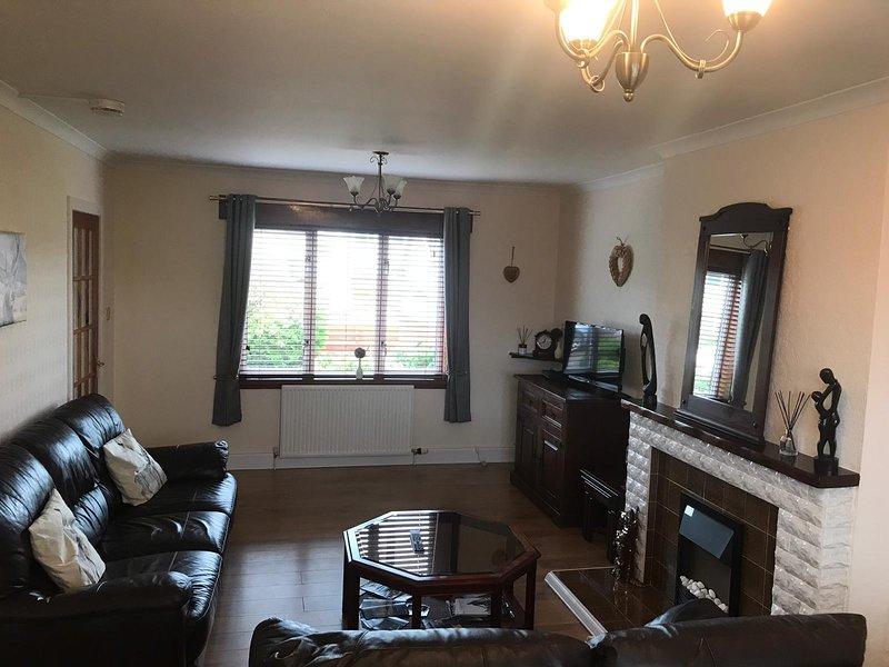 Spacious 3 bedroom house, holiday rental in Munlochy