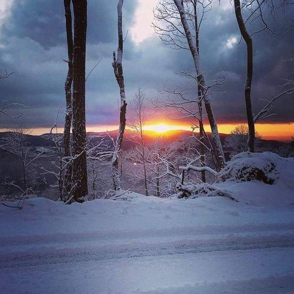 Mount Amiata about 25 minutes away