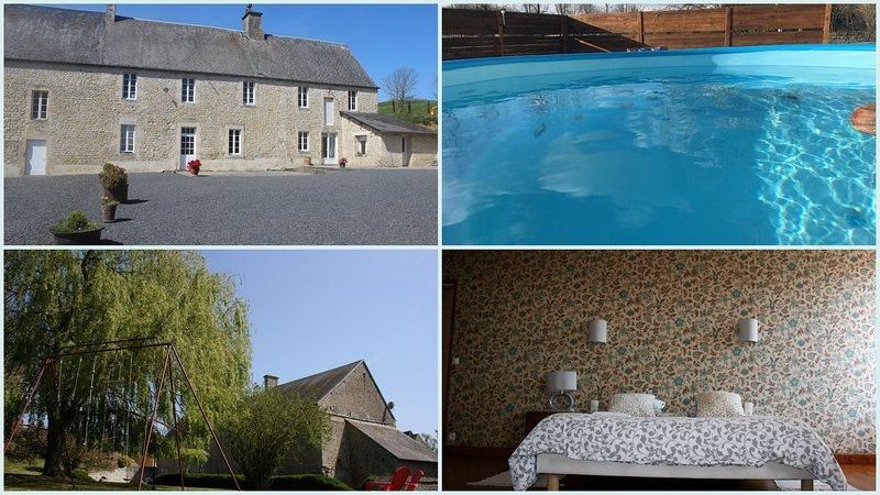 La maison du saule - Gîte de charme - Spa - 10 P, holiday rental in Villers-Bocage