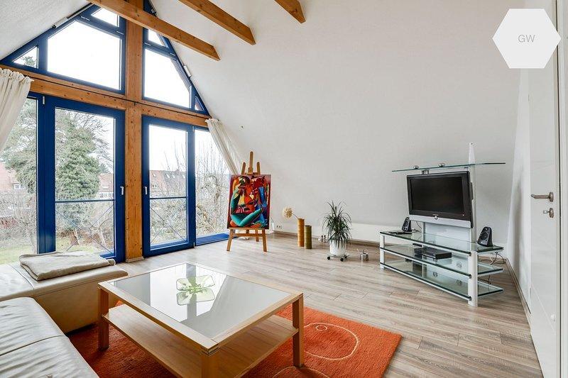 großzügiges und helles  Appartement 81qm, vacation rental in Nuremberg
