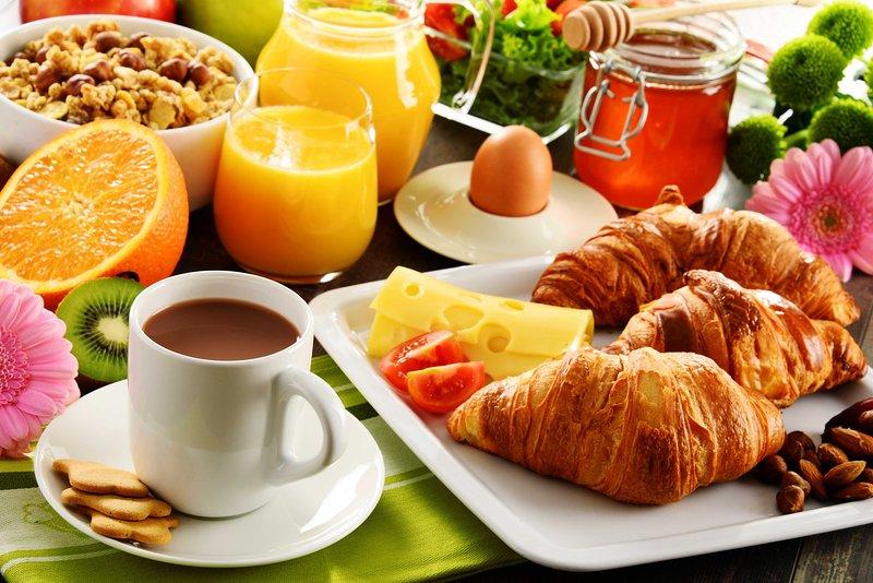 Continental breakfast a la carte
