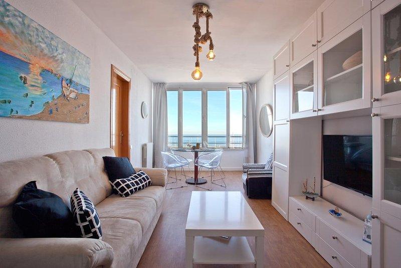 CANDELA'S BEACH-PORT-PANORAMIC COAST BARCELONA, aluguéis de temporada em Premia de Mar