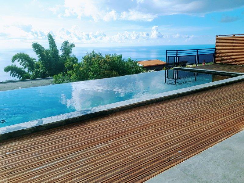Amazing villa with swimming-pool, casa vacanza a La Possession