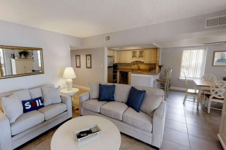 Open Floor Plan - Kitchen, Dining and Living Rooms - Great for family time.